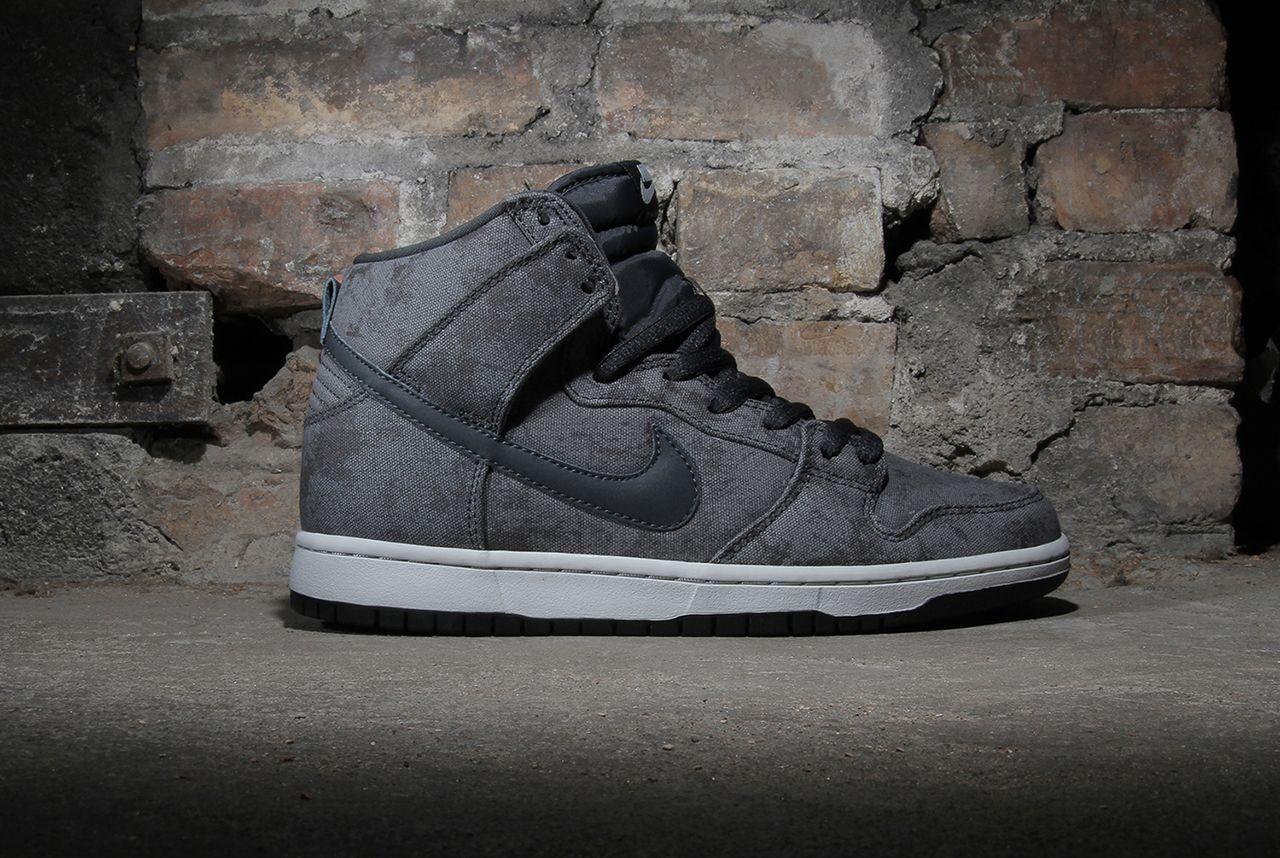Nike Sb Dunk High Neutral Grey Sneakers Men Fashion Kicks Shoes Nike Sb Dunks