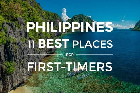 Philippines 11 Best Places To Visit For First Timers Detourista Travel Philippines
