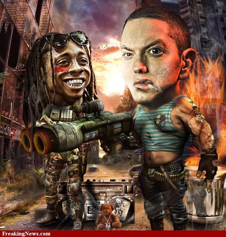 Rap Killers Eminem and Lil Wayne