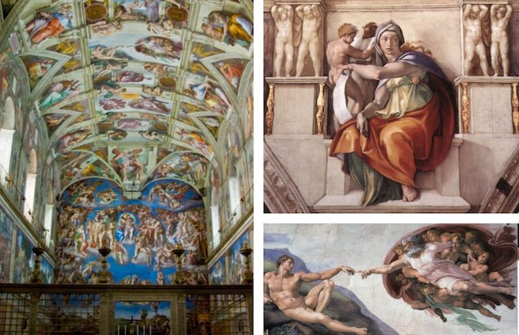 Painted The Ceiling Of The Sistine Chapel - New Blog ...