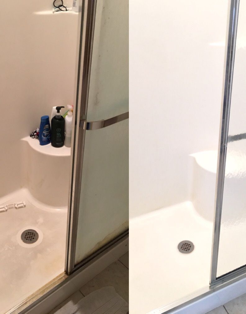 Housekeeping How To Deep Clean A Shower Chaotically Creative