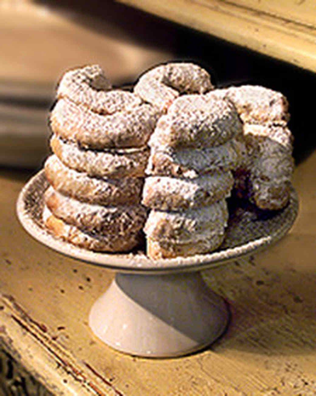 Vanilla Horseshoe Cookies Recipe Dessert for dinner