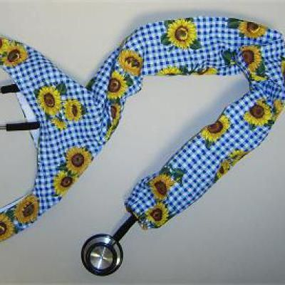 Sew A Colorful Fun Stethoscope Cover With This Free Fabric Pattern Simple Stethoscope Cover Pattern