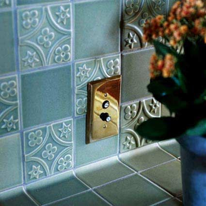 Simple Kitchen Wall Tile Designs