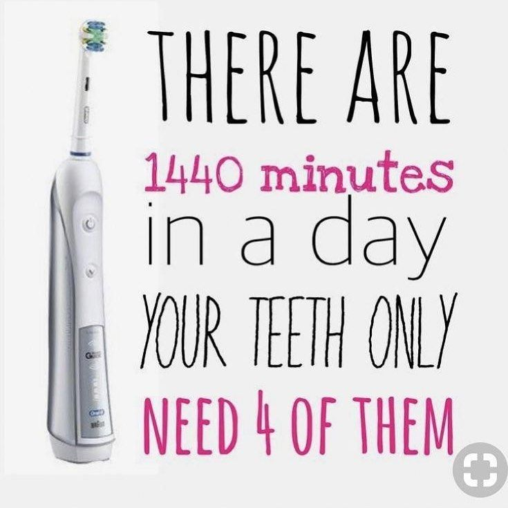 Take time to care for your teeth. OralCare www