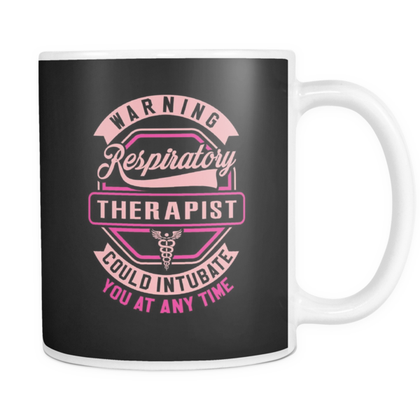 Respiratory Therapist Mug | Warning Respiratory Therapist ...