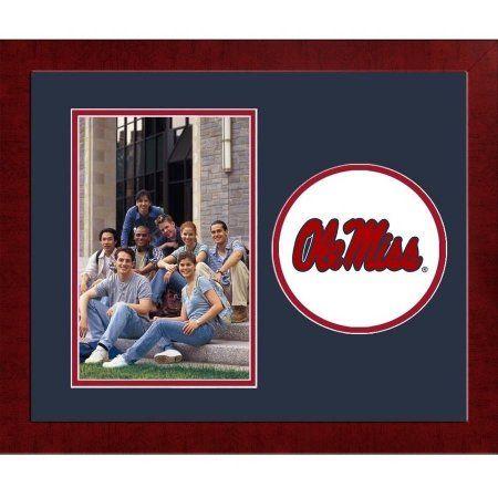 Mississippi Rebels Spirit Photo Frame (Vertical)