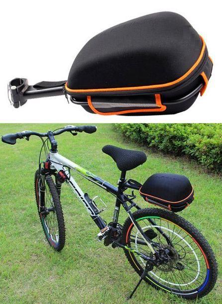 6ade8195a2b3 Hátsó, merev vázas, esőálló csomagtartó kerékpárra. A 3,2 literes  űrtartalom kerékpár