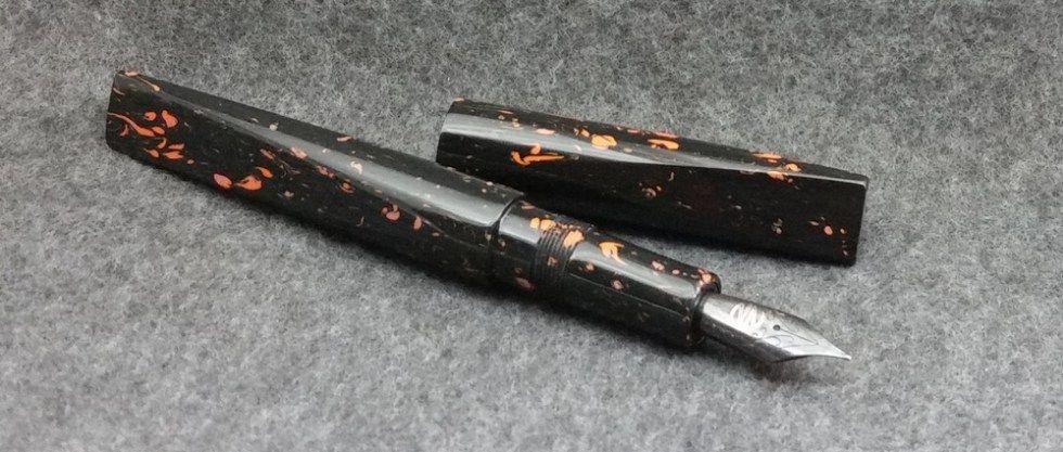 prospector vintage celluloid small standard newton pens