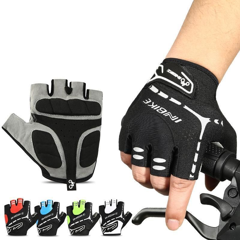 841f886e4a7 RunBusy  Unisex Bike Gloves ~ Half Finger Gel Padded ~ Accessories  cycling   beactive  runbusy  biking