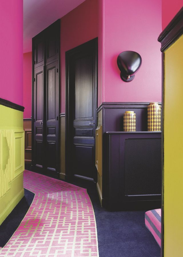 Appartement Paris 17 Ternes : une déco avec de la couleur   Reglisse ...