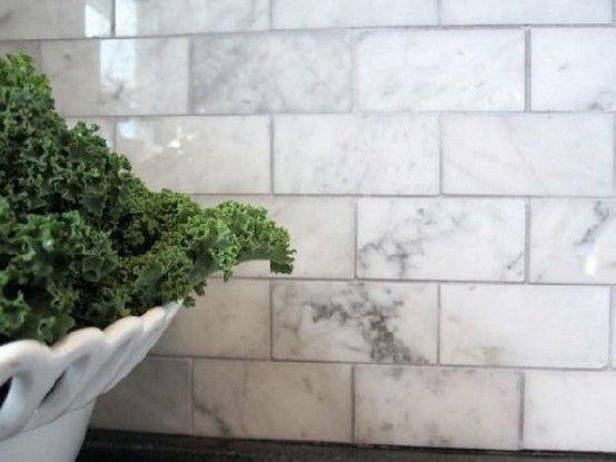 loft & cottage: marble backsplash preview