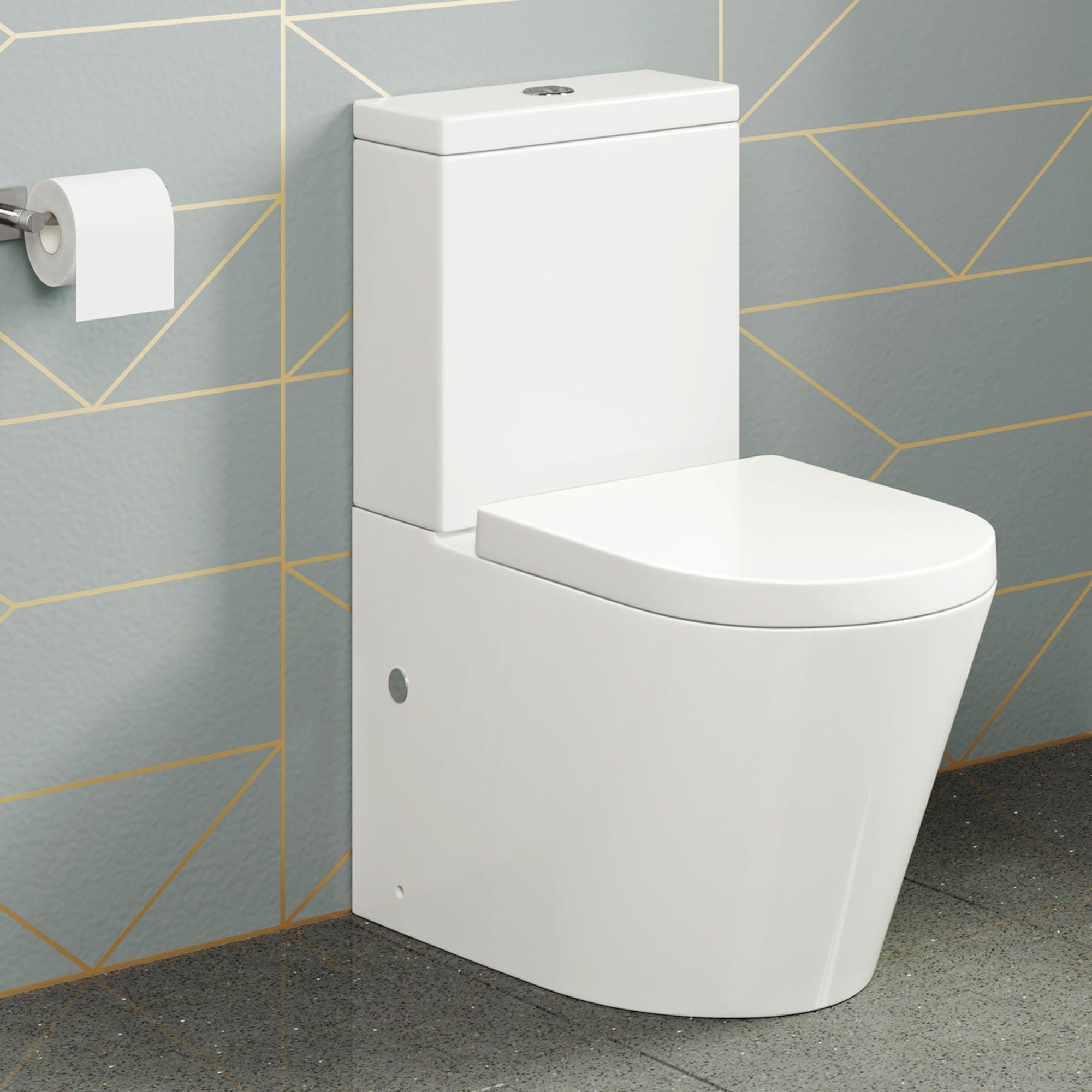 Lyon Ii Close Coupled Toilet Cistern Inc Luxury Soft Close Seat Toilet Spoelbak Toilet Ontwerp