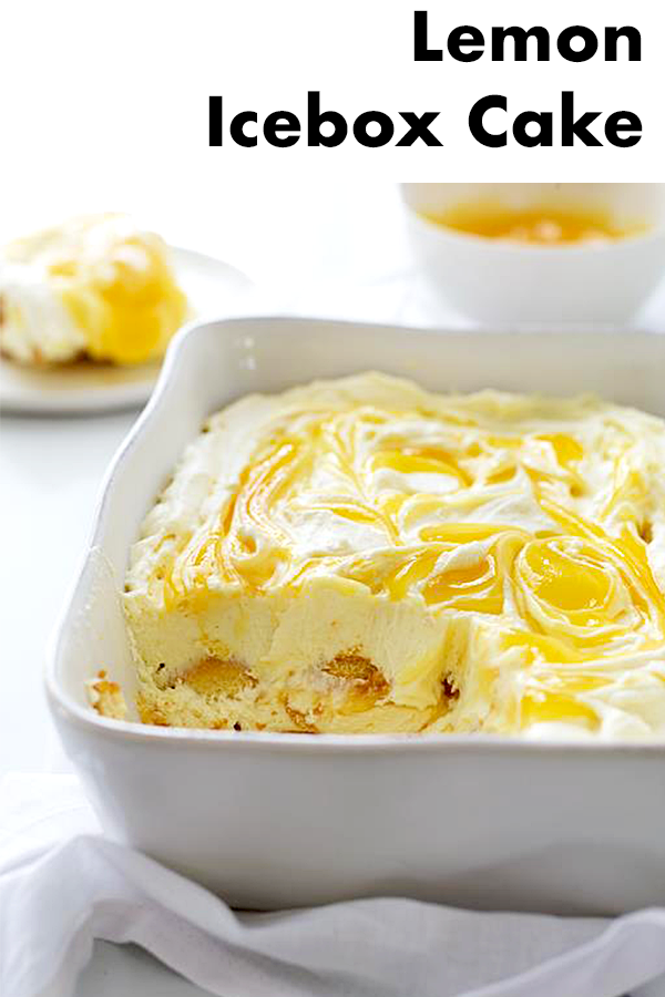 Valerie Bertinelli's Lemon Ice Box Cake | Sweet Paul Magazine