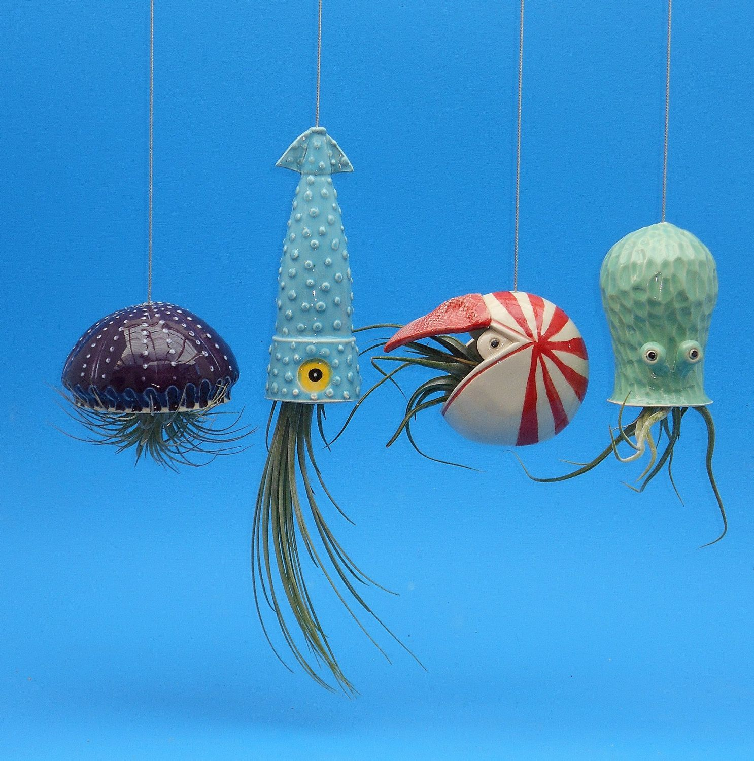 4 Large Air Planters , Octopus Garden Collection ... - photo#4