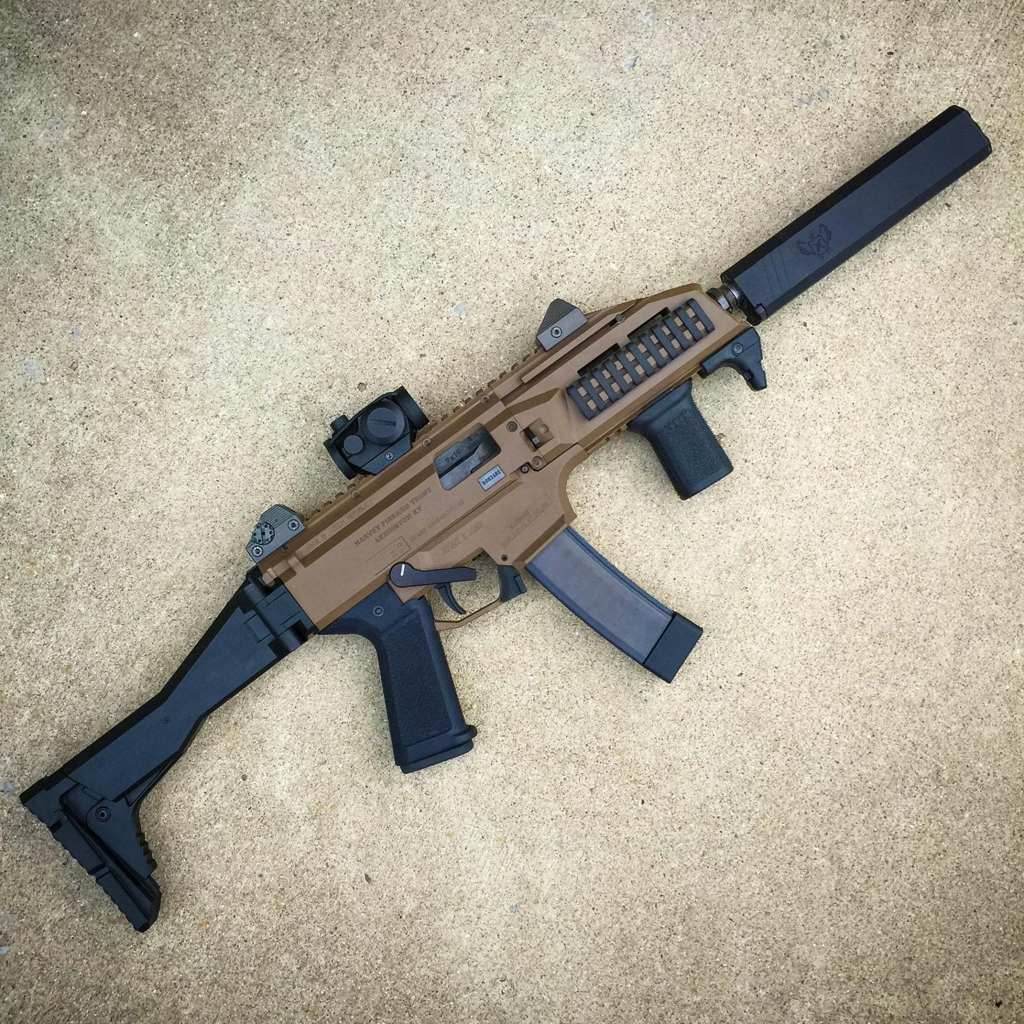 FDE Scorpion EVO SBR & Suppressor. | Firearms and Survival ...