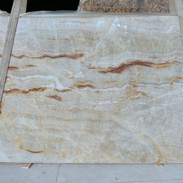 Nacarado quartzite for kitchen and bathroom countertops at Ecstatic ...