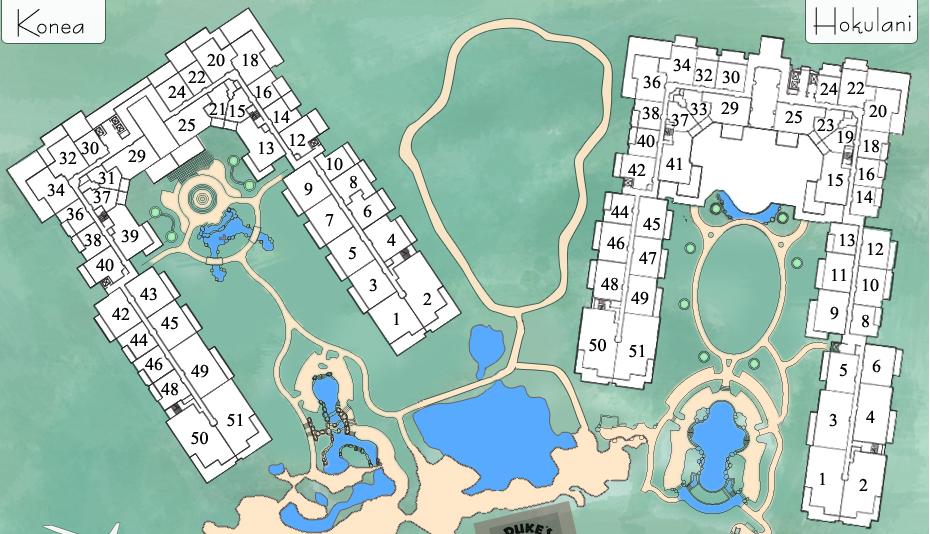 Honua Kai Resort Map Honua Kai Resort | maui di 2019