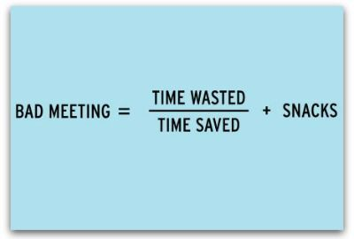 Meeting No's No's we all know about, but continue to commit... reminders never hurt!