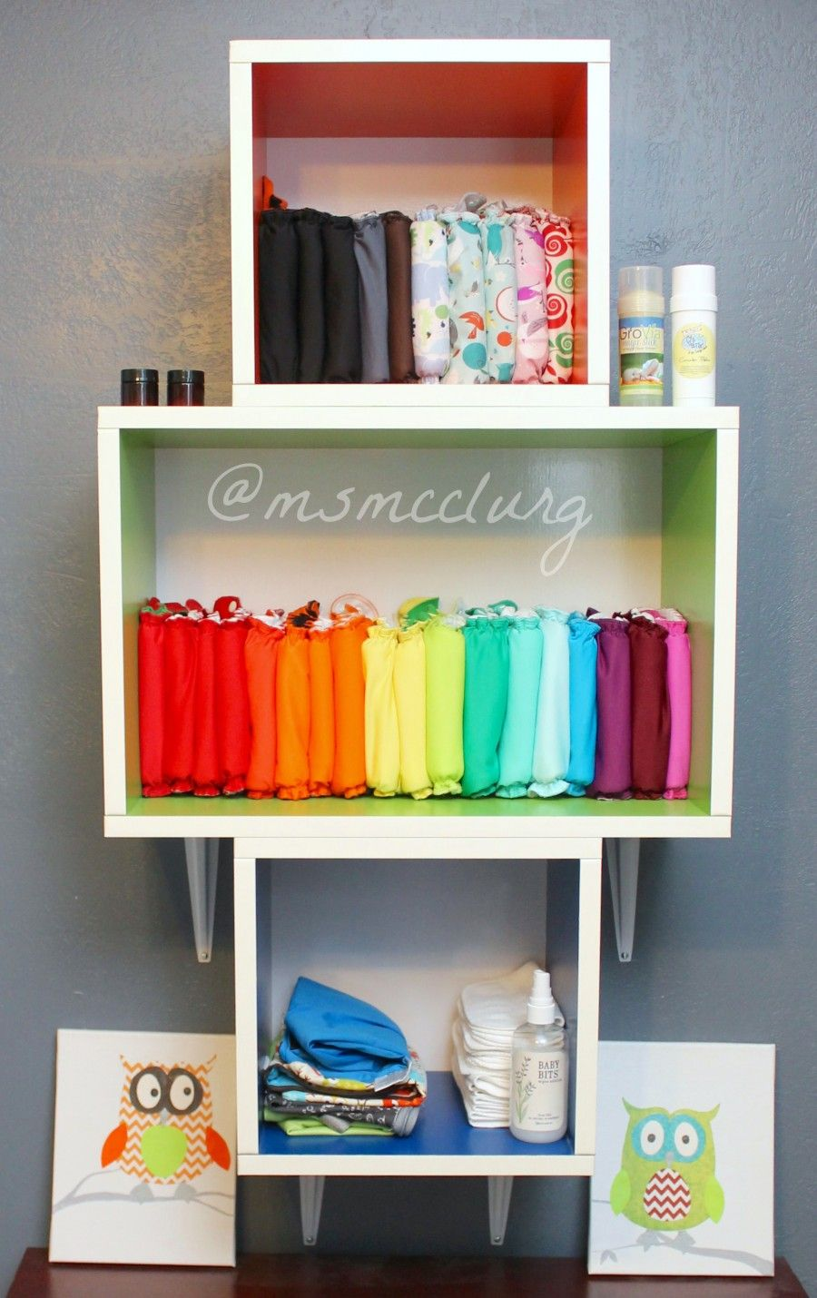 13 Inspired Cloth Diaper Storage Ideas Cloth Diaper Storage Diaper Storage Cloth Diaper Organization