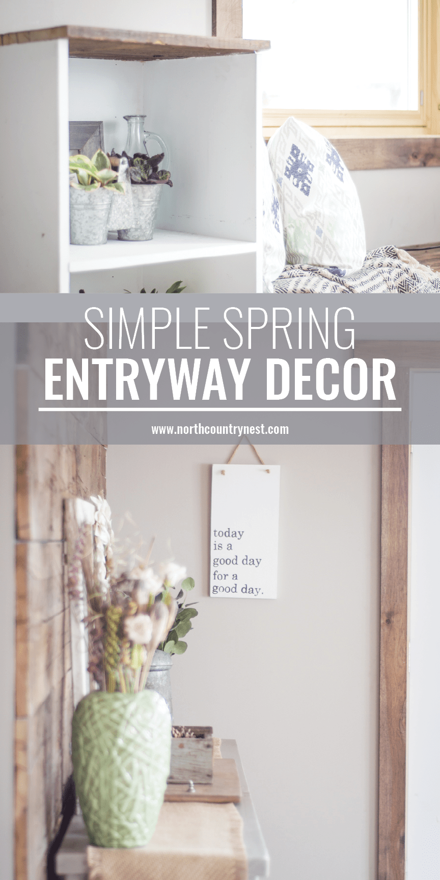 Spring Entryway Home Tour | Spring