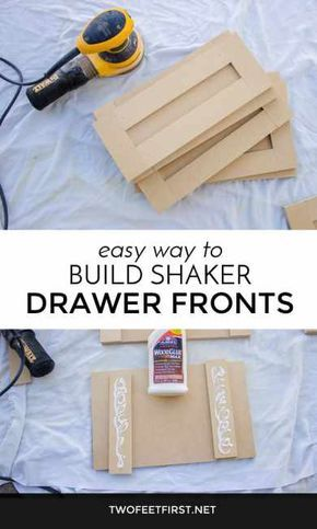 Build Shaker Style Drawer Front