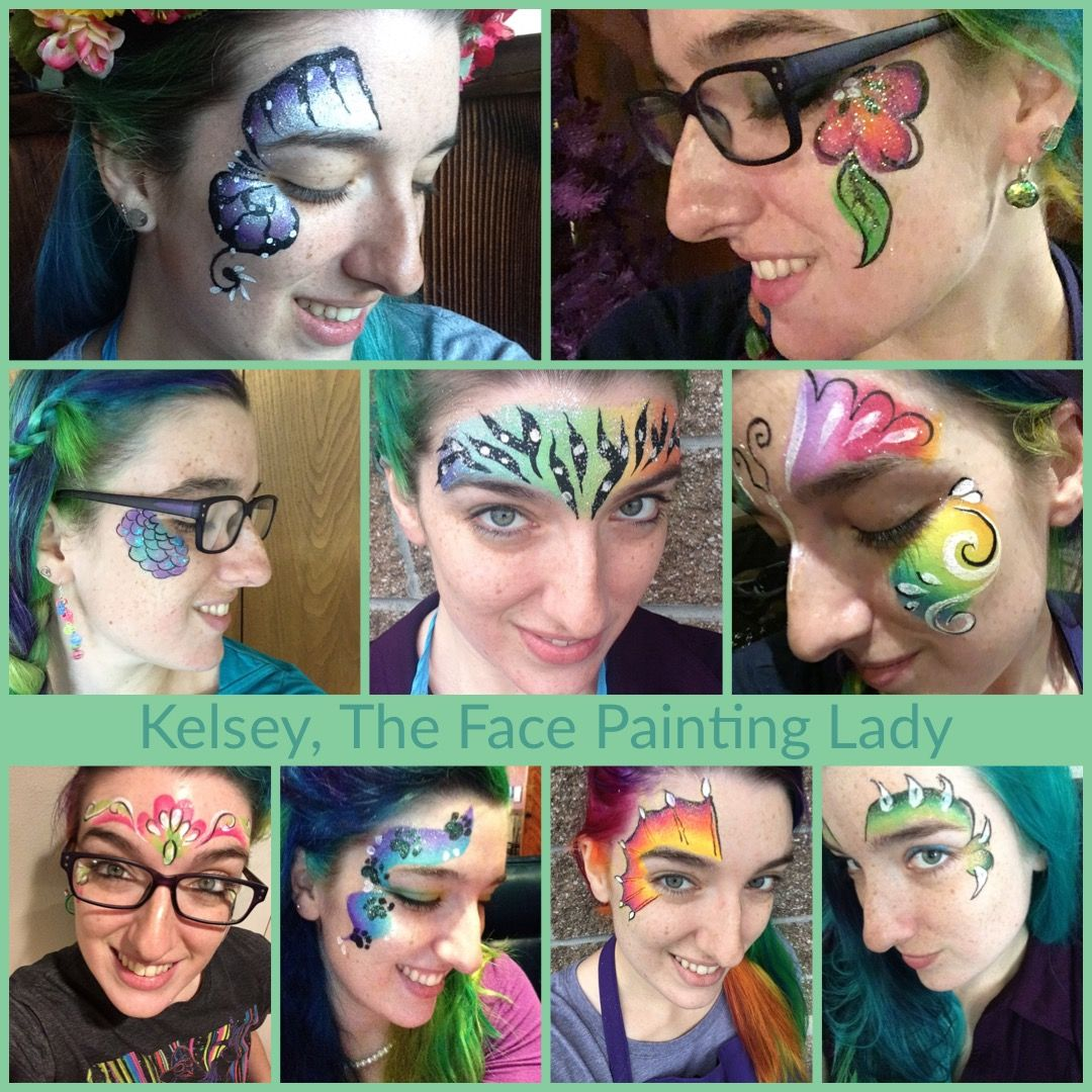 Faces by Kelsey, The Face Painting Lady Woman painting