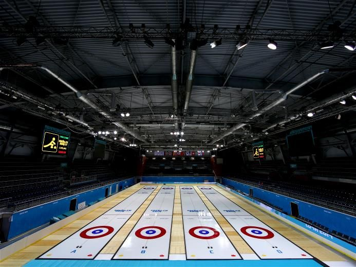 Sochi 2014 Ice Cube Curling Center