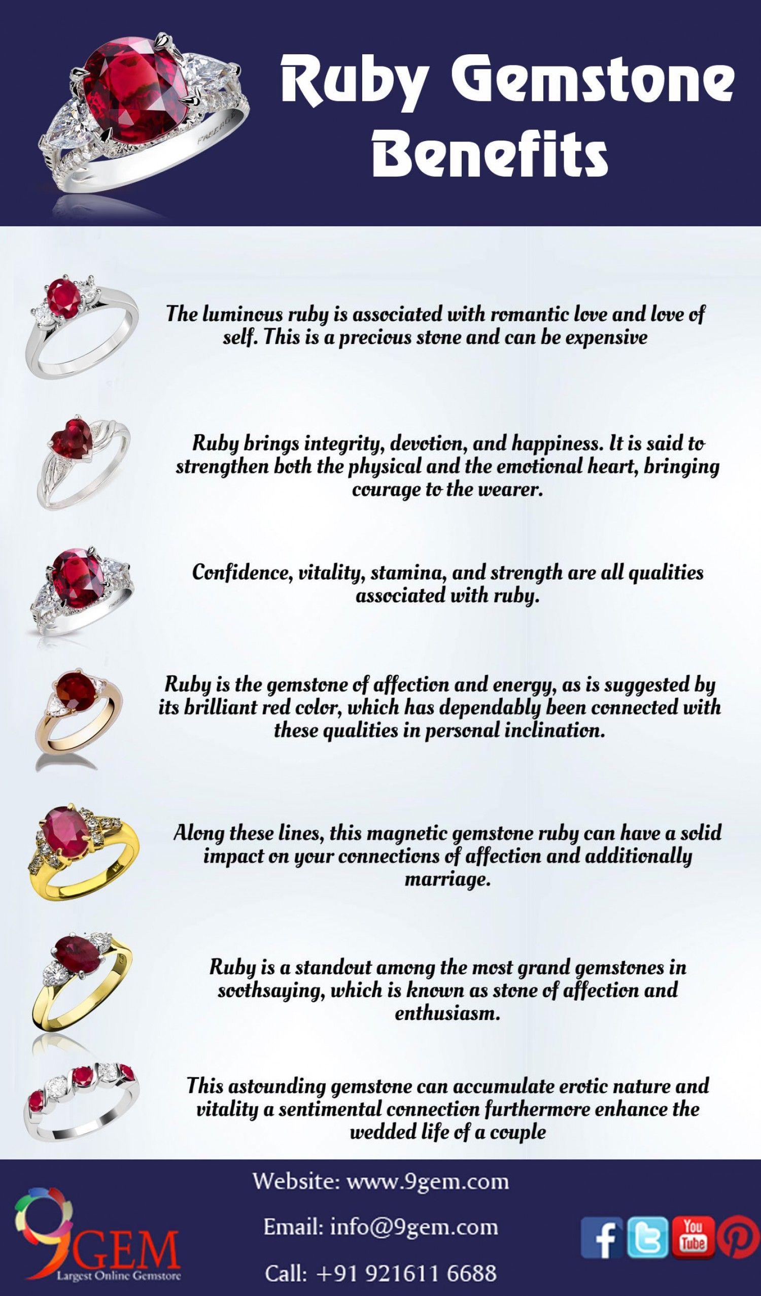 Benefits Of Wearing Ruby Gemstone Ruby Gemstone Gemstones Ruby
