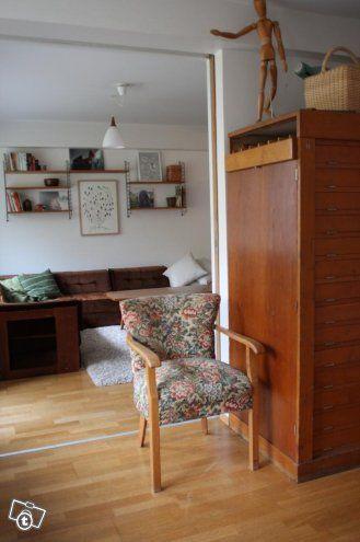 Söpö, pieni ja pullea Art Deco- nojatuoli