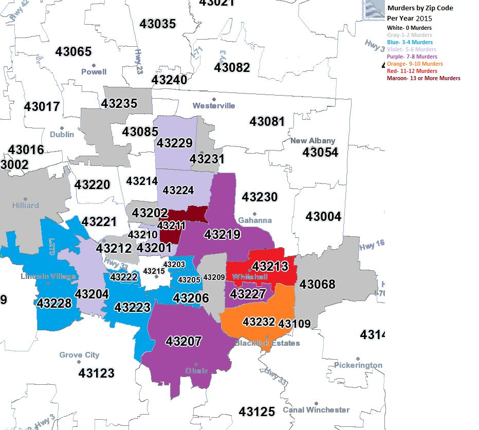 Columbus Zip Code Map Cincinnati Ohio Zip Code Map (With images) | Cincinnati ohio, Zip