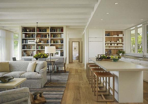 10 Kitchens Without Upper Cabinets | Open kitchens, Small spaces ...