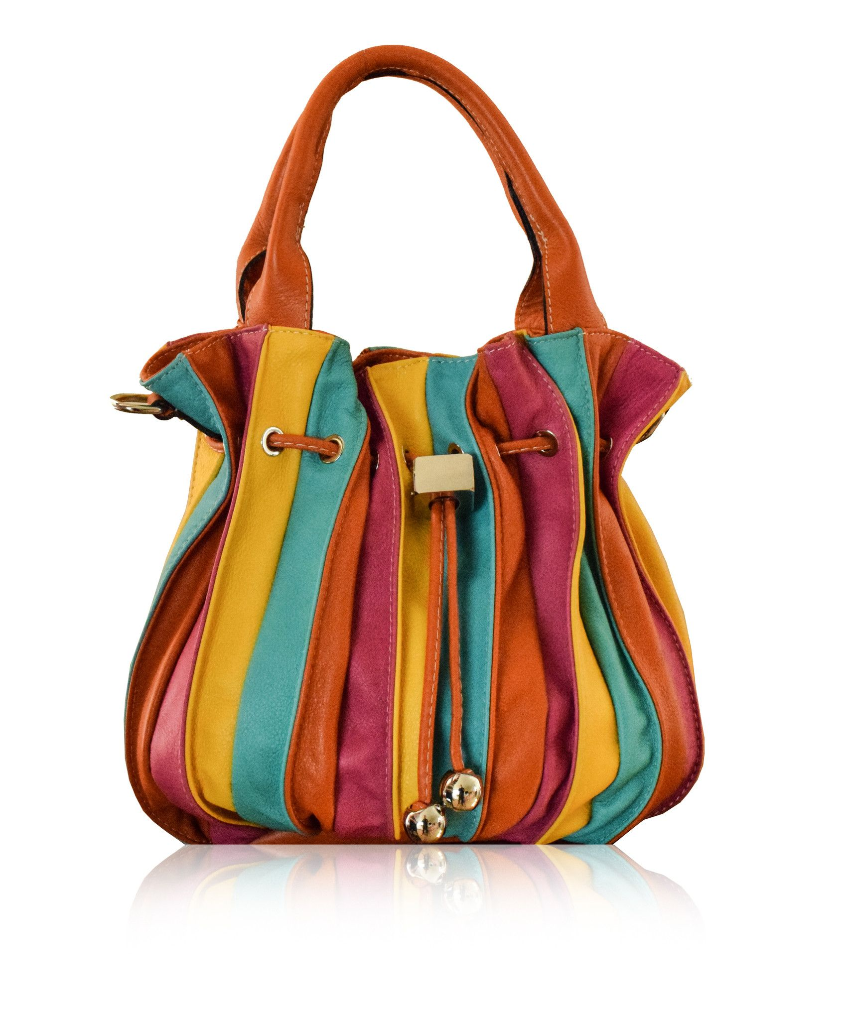 Toscana Soft Multi Colour Leather Tote Bag From Florence Collection Firenze