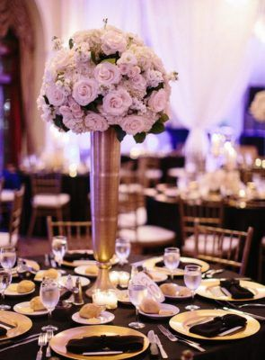 Wedding Reception Centerpiece Inspiration - Photo: Stefano Choi ...