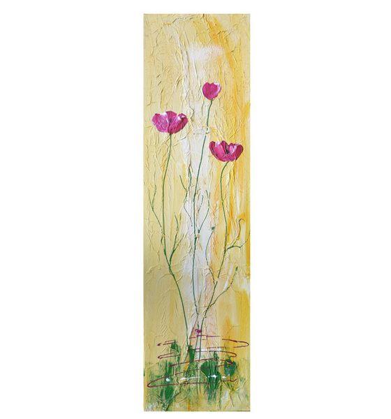 Acrylmalerei - Blumen Bild - ein Designerstück von Salabrin bei ...