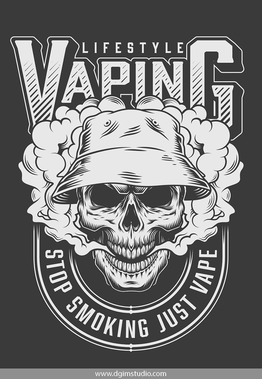 Skull creator Desain logo, Cara menggambar, Seni