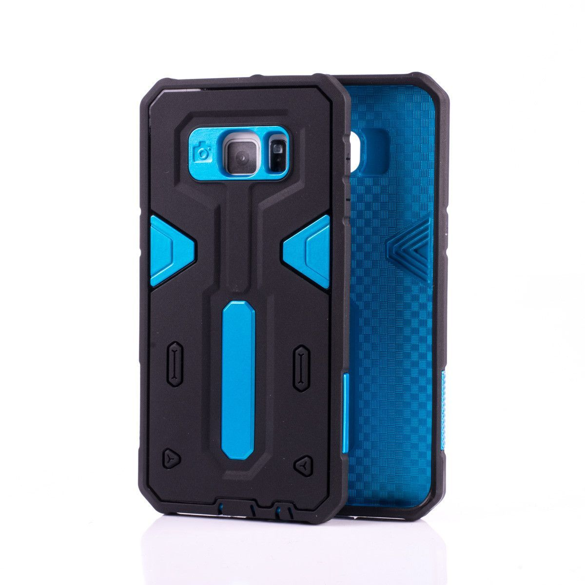 Hybrid Shockproof Rugged Rubber Hard Cover Case Skin for Samsung Galaxy 6 Edge Plus