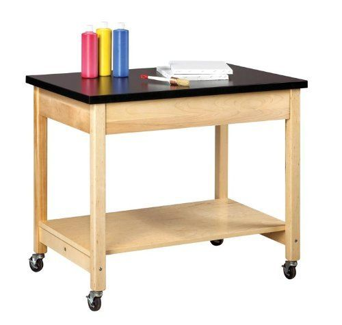 Mobile Demonstration Table By Shain Solutions By Shain Solutions 529 00 Science Lab Tables Designed For Plywood Shelves Office Furniture Modern Furniture