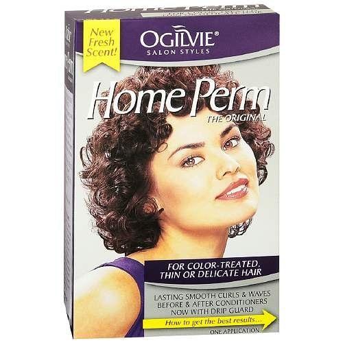 Ogilvie Home Perm, For Color-Treated Hair 1 ea