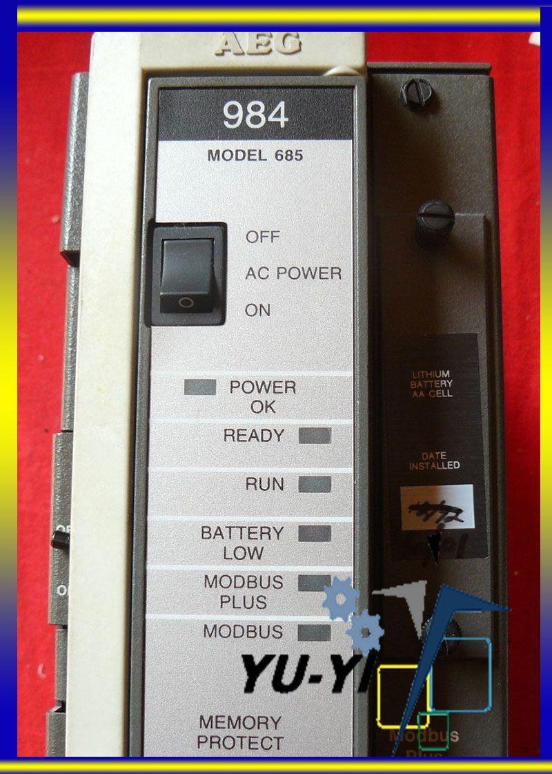Modicon Programmable Controller Series 984 Model 685e Pc E984 685 Modbus Plus Wiring Technology