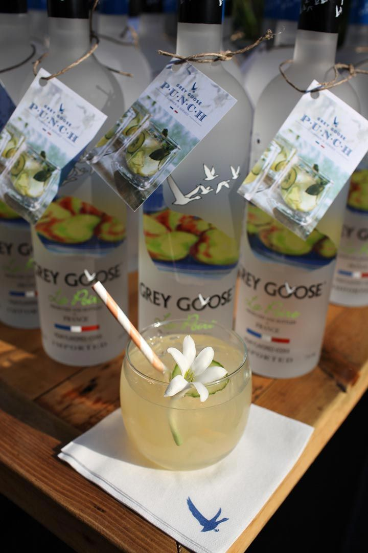 Grey Goose La Poire Party Favors With A Recipe For The Lakeshore
