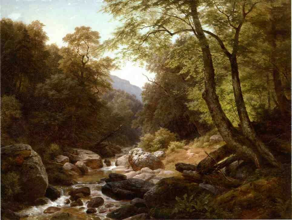 In the Catskills Paul Weber - 1859