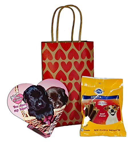 Me & My Dog Valentine Bundle... Includes Three Items - Puppy Themed Chocolate Candy For Your Favorite Human, Dentastix Treats For Their Dog & Heart Print Gift Bag Mixed http://www.amazon.com/dp/B01AD3B6K6/ref=cm_sw_r_pi_dp_jPqUwb1V2YN5Z