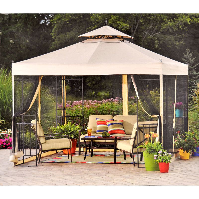 Walmart Athena Gazebo Replacement Canopy Garden Winds Patio Patio Swing Canopy Gazebo Replacement Canopy