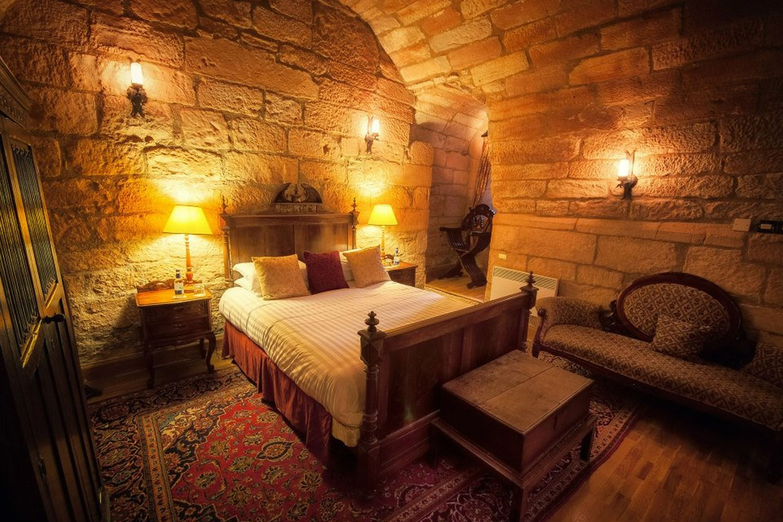 Rooms: De Ramseia Themed Suite Inside Dalhousie Castle And Spa