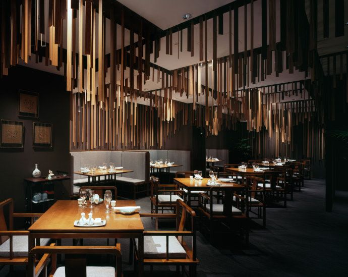 Gentil Shato Hanten Is A Chinese Restaurant Design By Kengo Kuma And Associates  Completed In It Is Located At Honmachi Garden City In Honmachi Chuouku  Osaka.