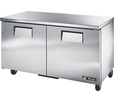 True Undercounter Freezer 15 5 Cu Ft Tuc 60f Undercounter
