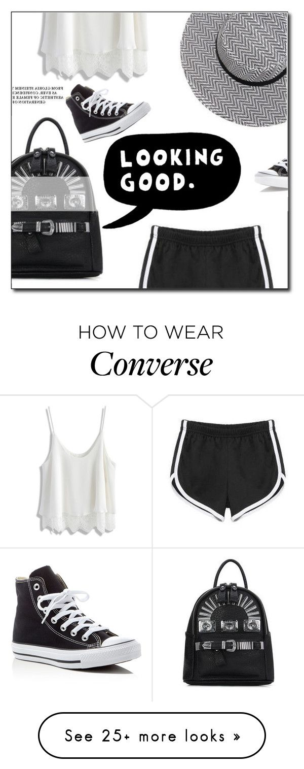 """""""Yoins"""" by janee-oss on Polyvore featuring Chicwish, Converse and ESPRIT"""