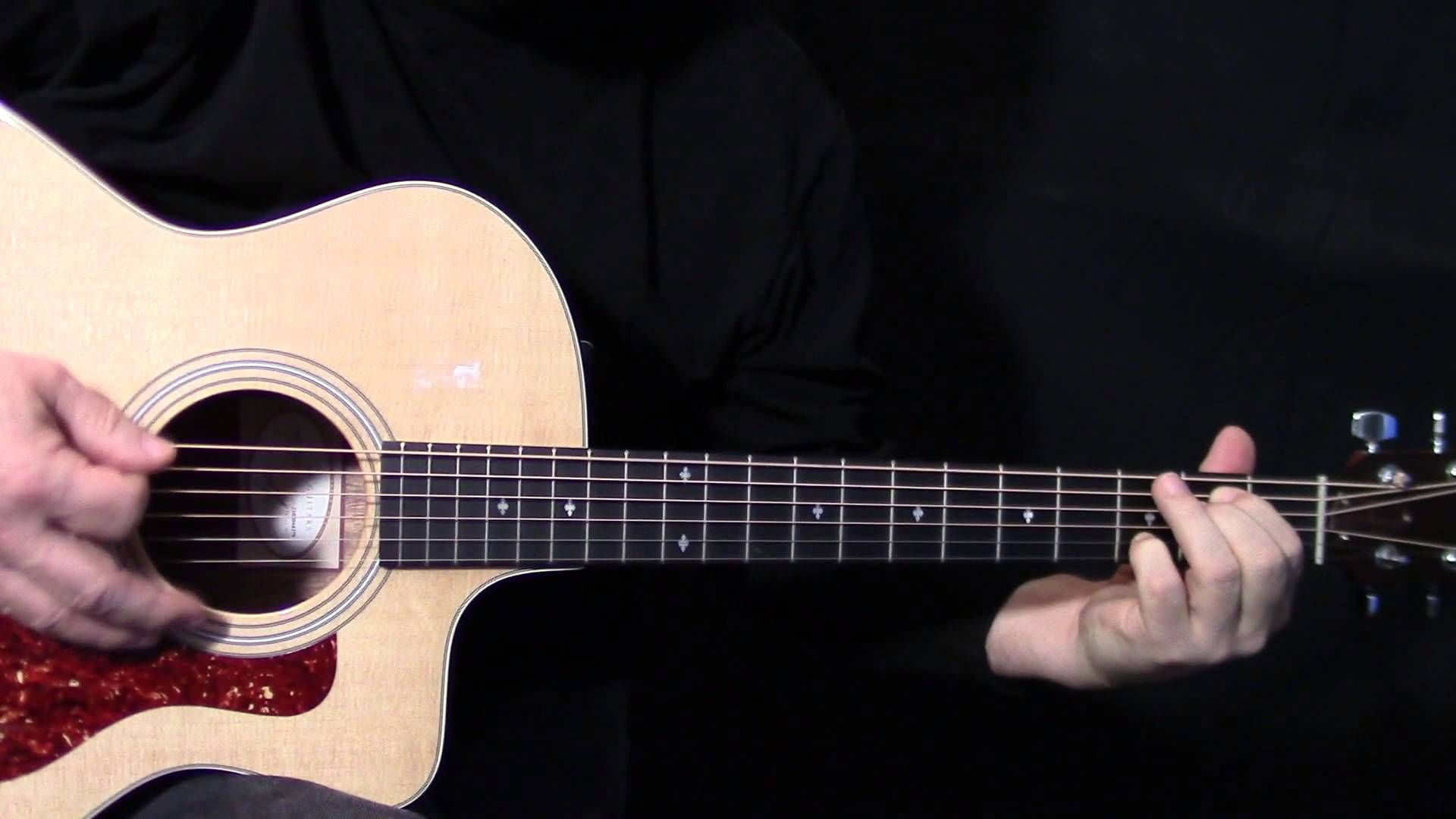 """how to play """"Heart of Gold"""" on guitar by Neil Young"""
