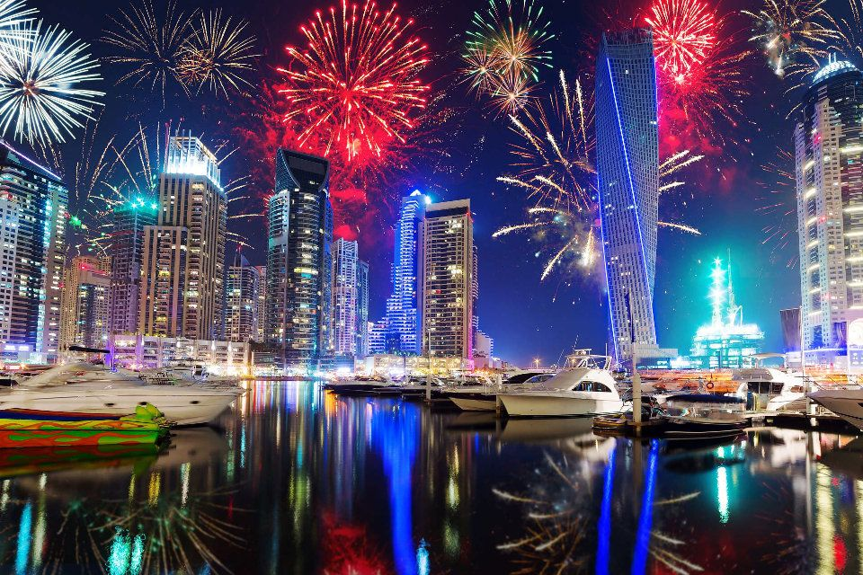Dubai New Year Packages 2021 New year fireworks, New